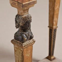 An Exceptional Swedish Empire Console Table Circa 1810 thumbnail 2