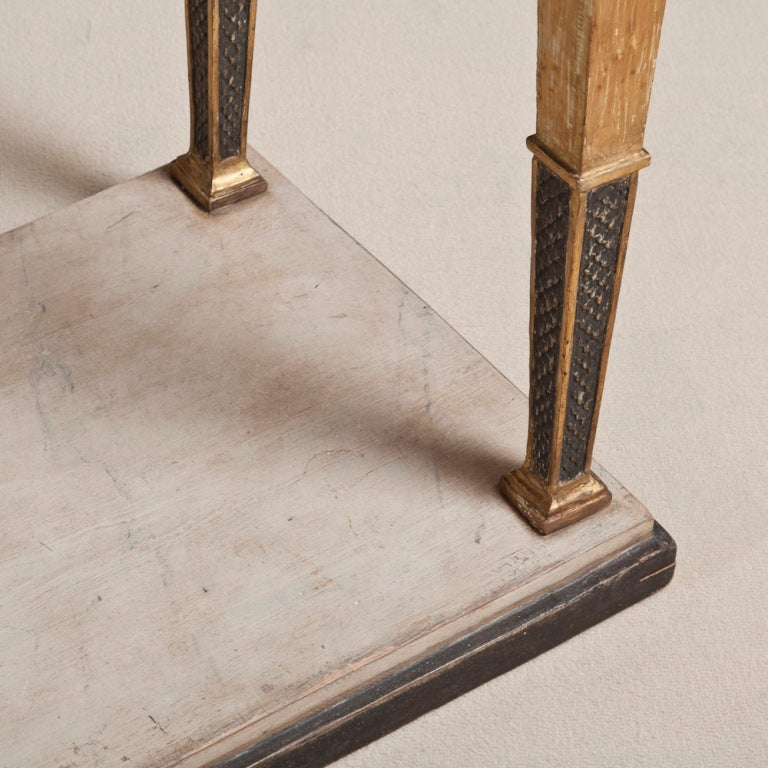 An Exceptional Swedish Empire Console Table Circa 1810 image 4