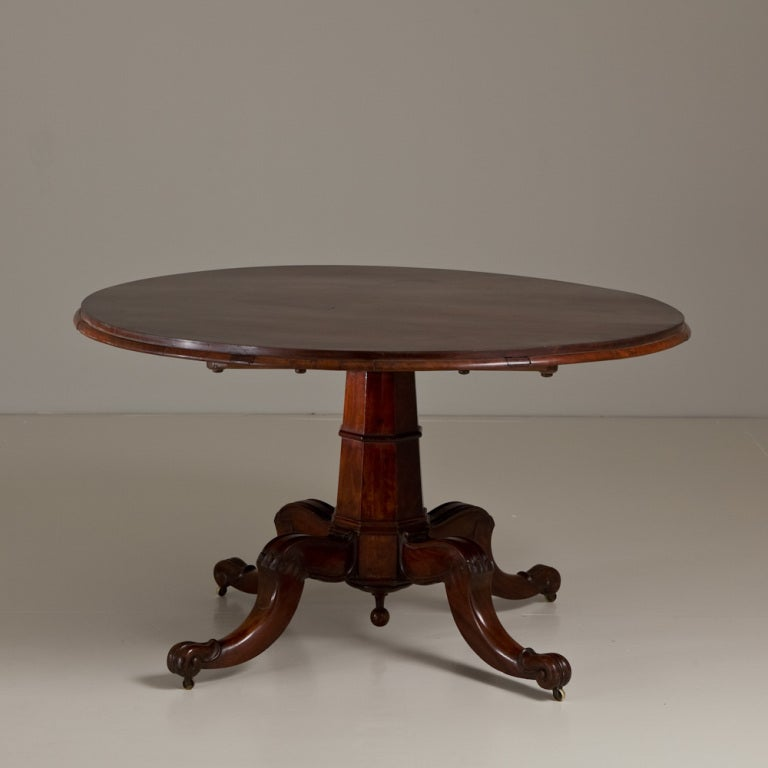A Superb Irish Mahogany Dining Table Circa 1830 At 1stdibs