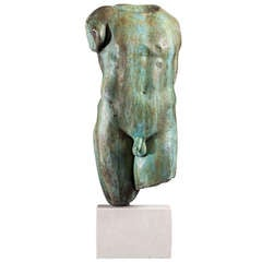 Bronze Cast of a Torso by Talisman