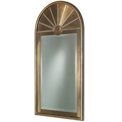 Mastercraft Designed Brass Pier Mirror, Usa, Stamped 1960s