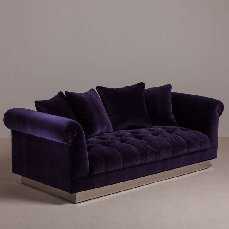 Standard deep buttoned sofa by talisman bespoke for sale for Deep sofas for sale