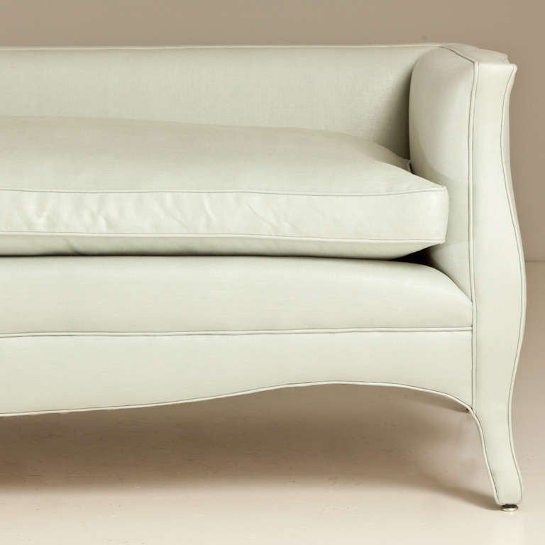A standard low back french style sofa by talisman bespoke for Sofa bespoke