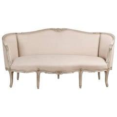 19th Century Swedish Rococo Inspired Sofa, circa 1880