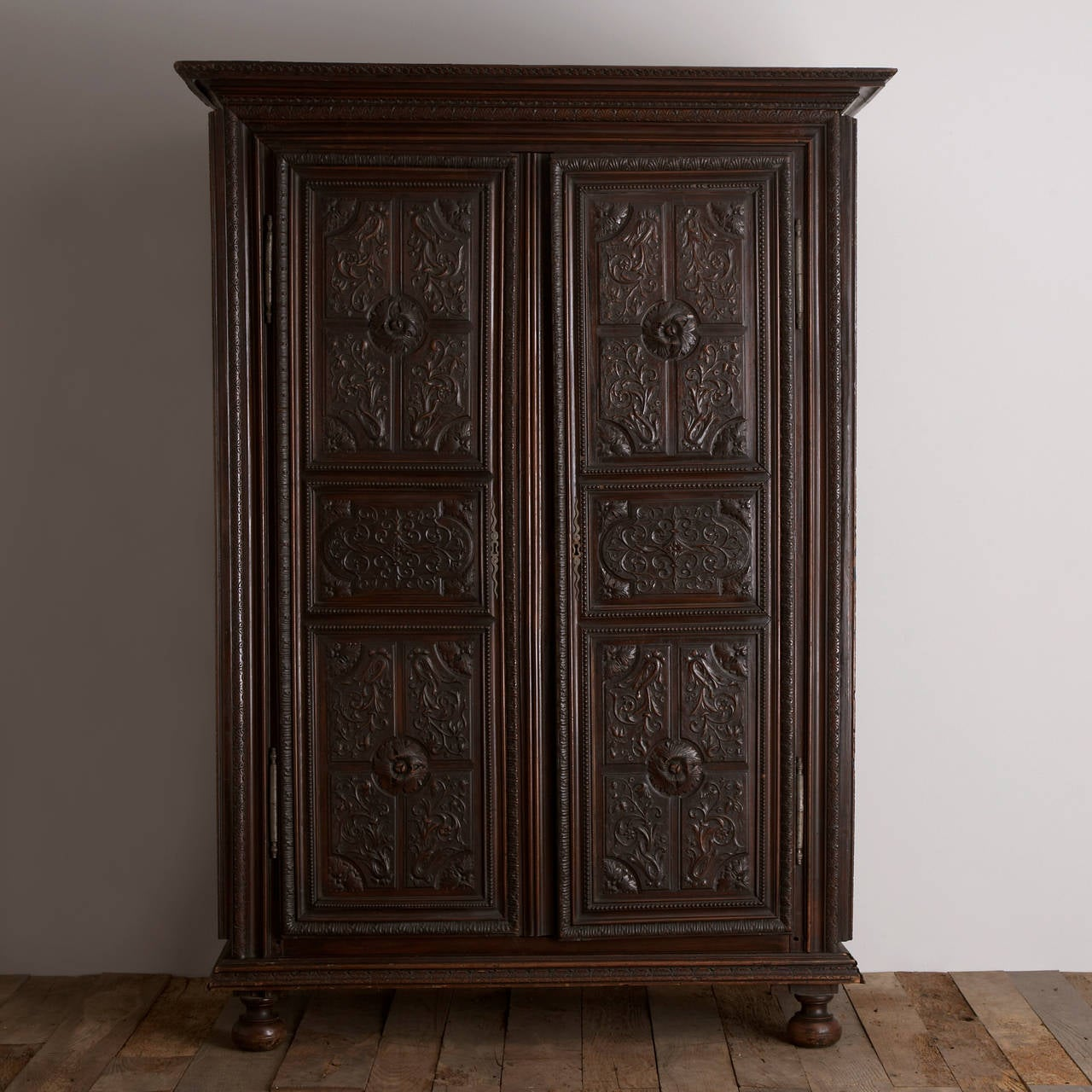 a late 18th century french walnut armoire for sale at 1stdibs. Black Bedroom Furniture Sets. Home Design Ideas
