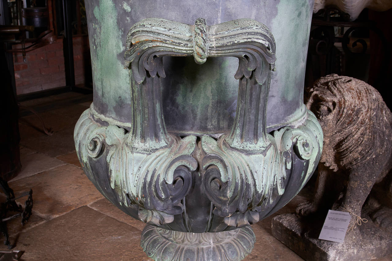 Cast Bronze Urn For Sale 1