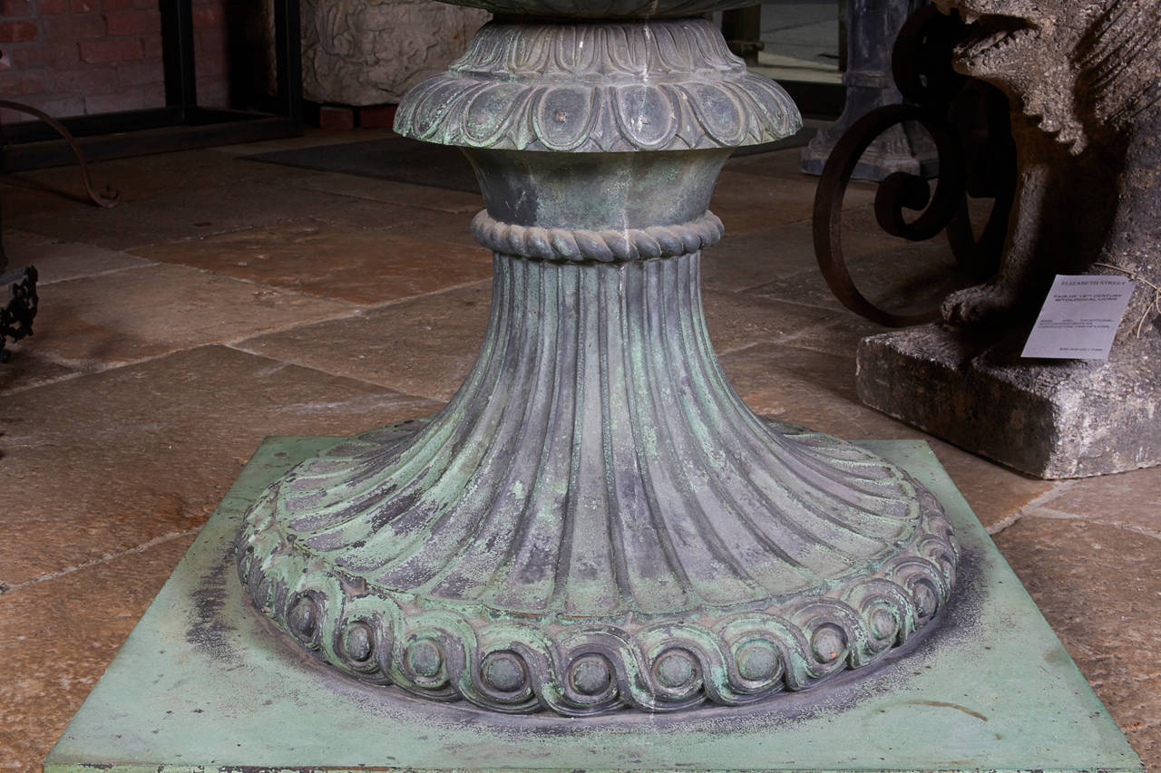 Cast Bronze Urn For Sale 4