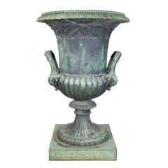 Cast Bronze Urn