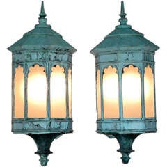 Impressive Pair of Sconces