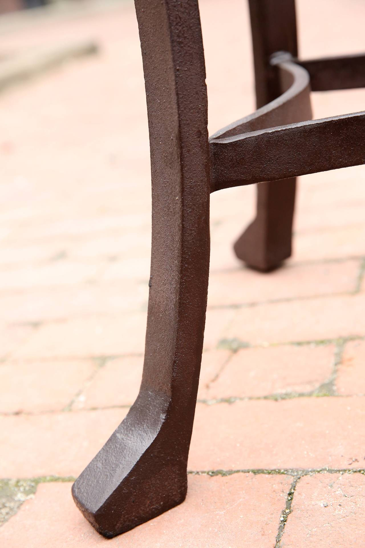 Wrought Iron Table Base 2