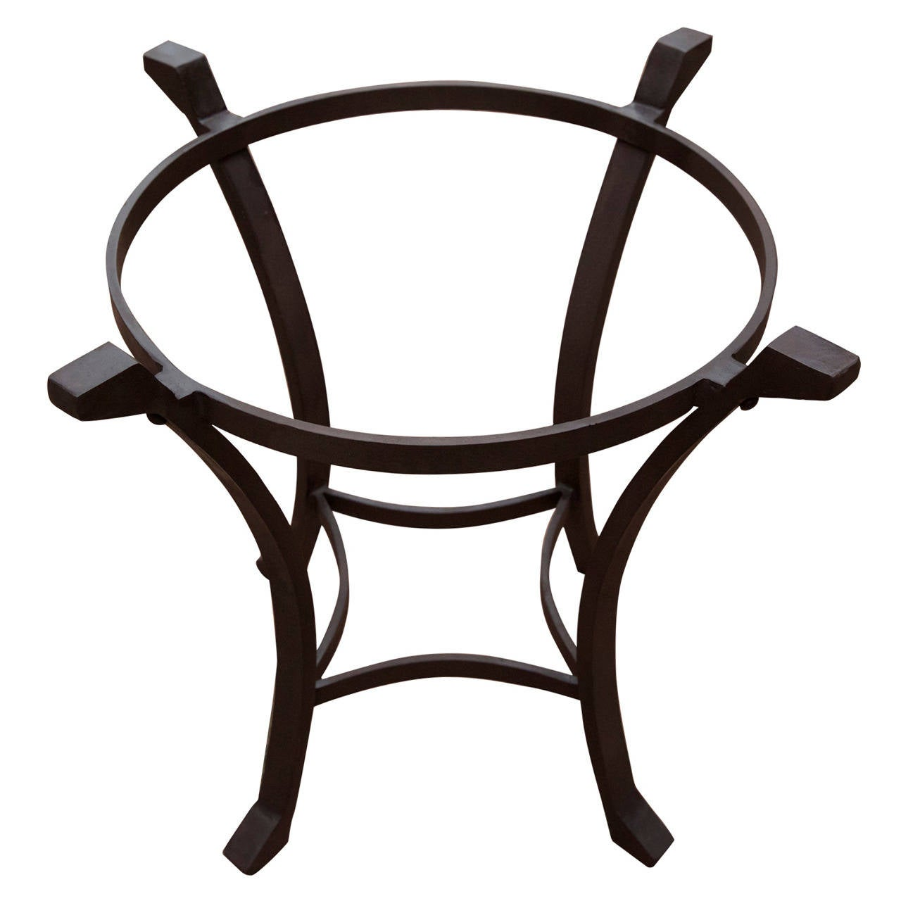 Wrought Iron Table Base 1