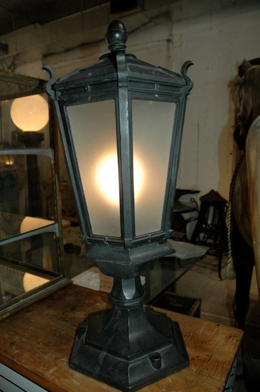 Cast Iron Pier Table Lamps 3