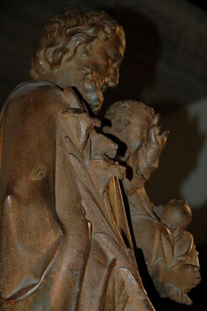 Saint Joseph Holding The Baby Jesus At 1stdibs