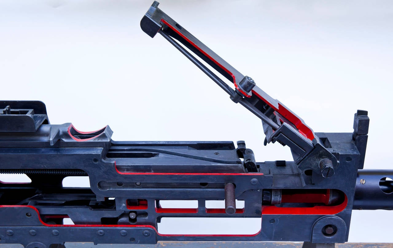 browning 30 caliber machine gun