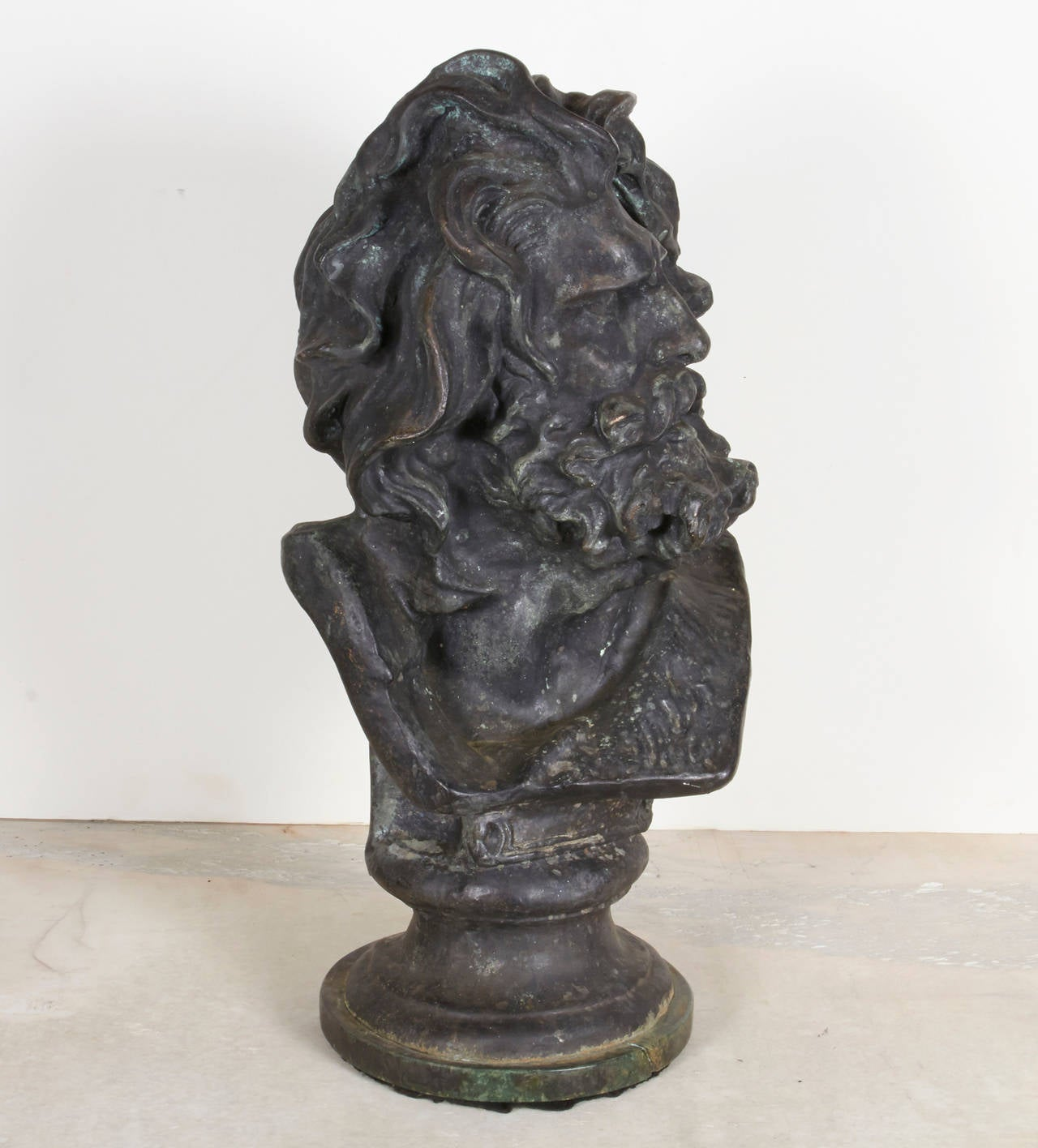 French Bronze Bust For Sale