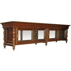 French Oak Display Case