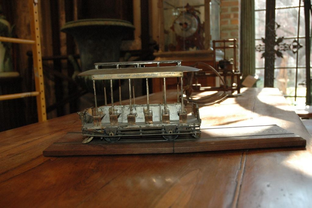 Exceptional San Francisco Cable Car Model For Sale At 1stdibs