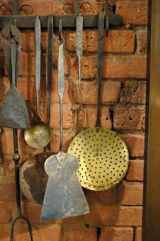 Collection of Early 1800s Cooking Tools