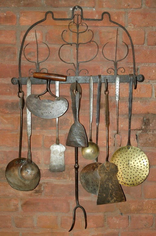 Collection Of Early 1800s Cooking Tools At 1stdibs