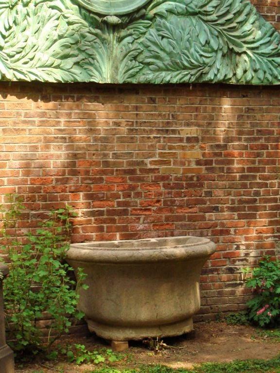 18th Century Stone Basin For Sale 1
