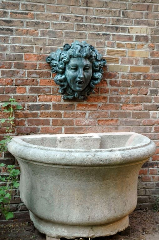 18th Century Stone Basin For Sale 4