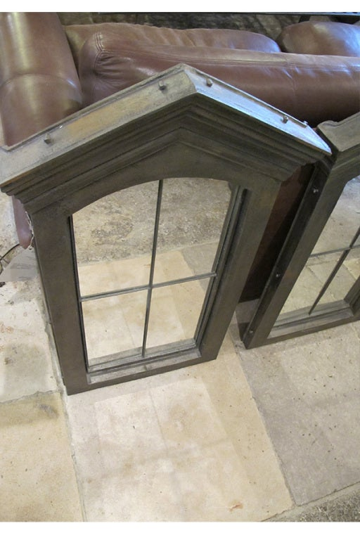 Unique French Cast Iron Window Surrounds In Excellent Condition For Sale In New York, NY