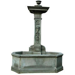 Volvic Stone Fountain