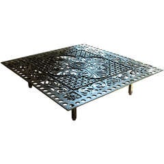 Architectural Grill Table