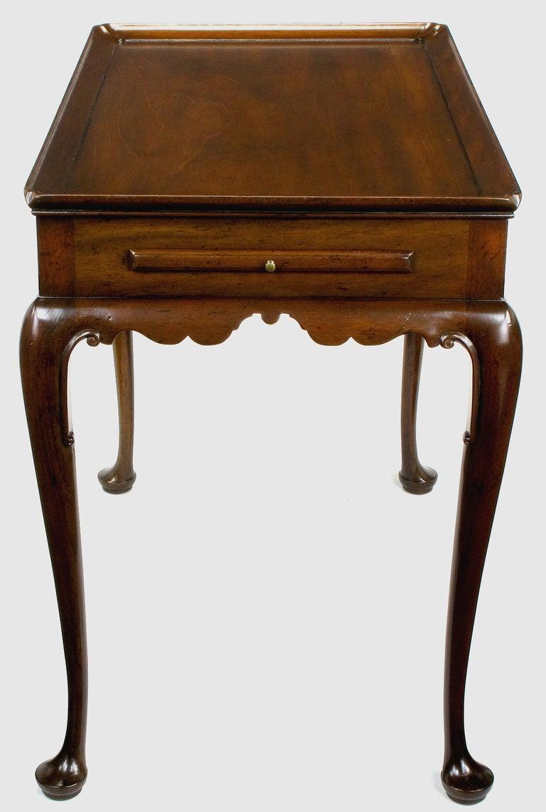 Kittinger Walnut Regency Side Table