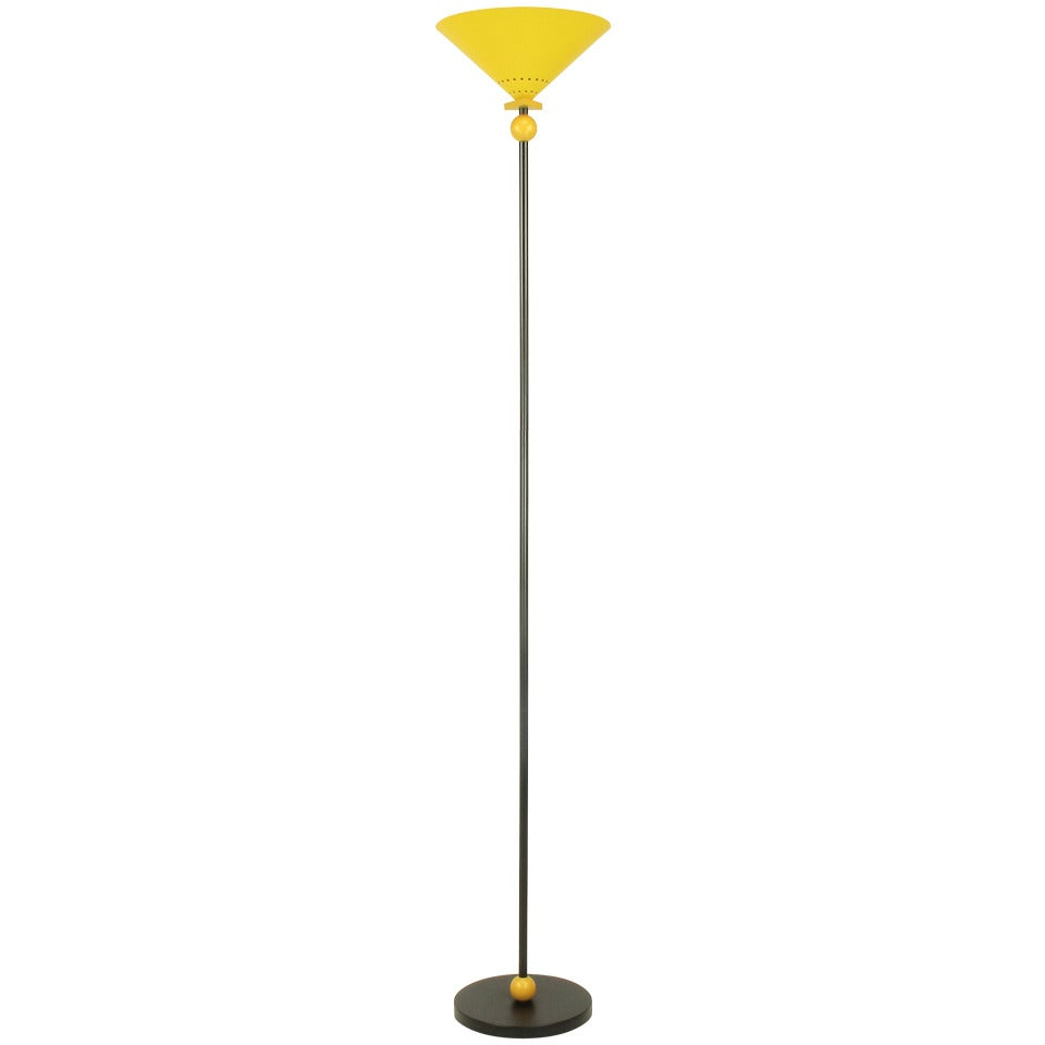 Memphis Group Inspired Floor Lamp At 1stdibs