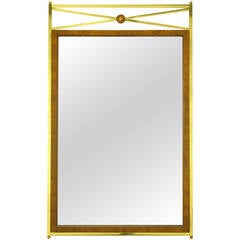 Marcius Art Deco Revival Mirror For Harold Zimmerman