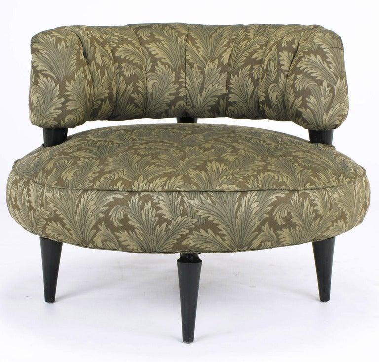 Pair 1940sart Deco Lounge Chairs By Carson Pirie Scott At 1stdibs