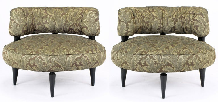 Pair 1940sart Deco Lounge Chairs By Carson Pirie Scott Image 2
