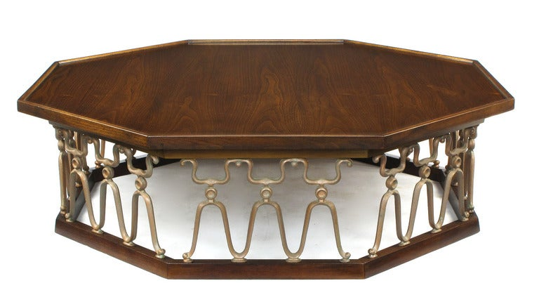 Rare coffee table designed by John Van Koert for the