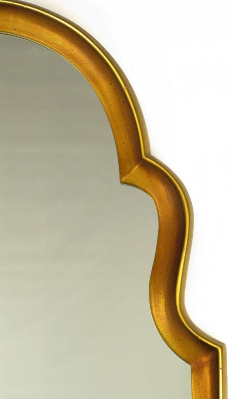 Italian Moorish Style Giltwood And Gesso Mirror For Sale
