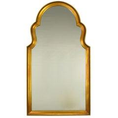 Moorish Style Giltwood And Gesso Mirror