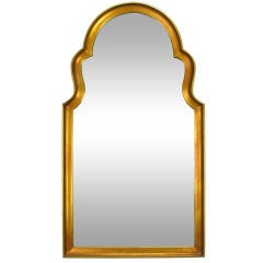 Moorish Style Giltwood And Gesso Mirror