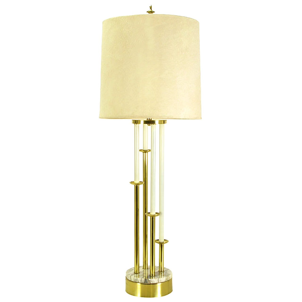 Rembrandt Tall Brass Candelabra Style Table Lamp