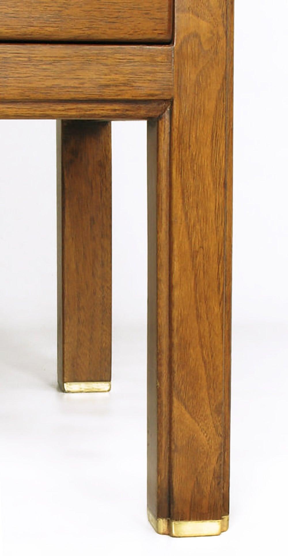 Edward Wormley Mahogany Sideboard Cabinet With Sliding
