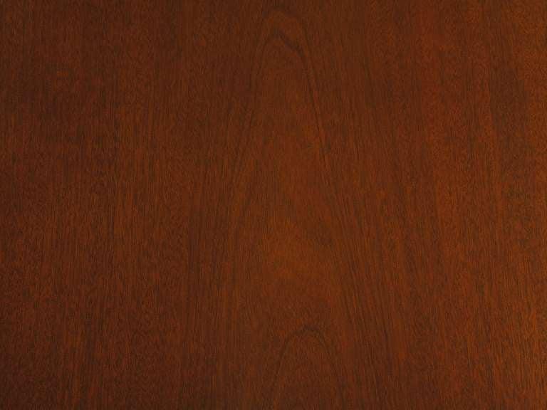 Fine Arts Furniture Co. Elegant Mahogany Three Drawer Writing Table For Sale 4