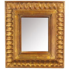 La Barge Spanish Revival Carved Gilt Wood Mirror