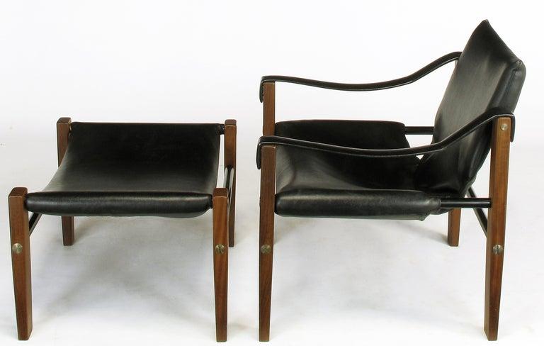 Maurice Burke For Arkana Safari Lounge Chair And Ottoman