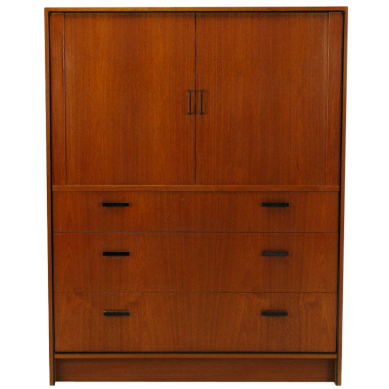 Falster Teak Danish Twelve-Drawer Gentleman's Chest