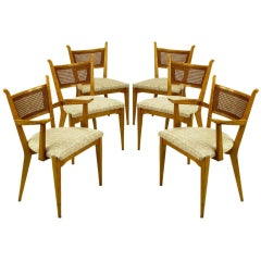 Set Six Edmond Spence Swedish Dining Chairs