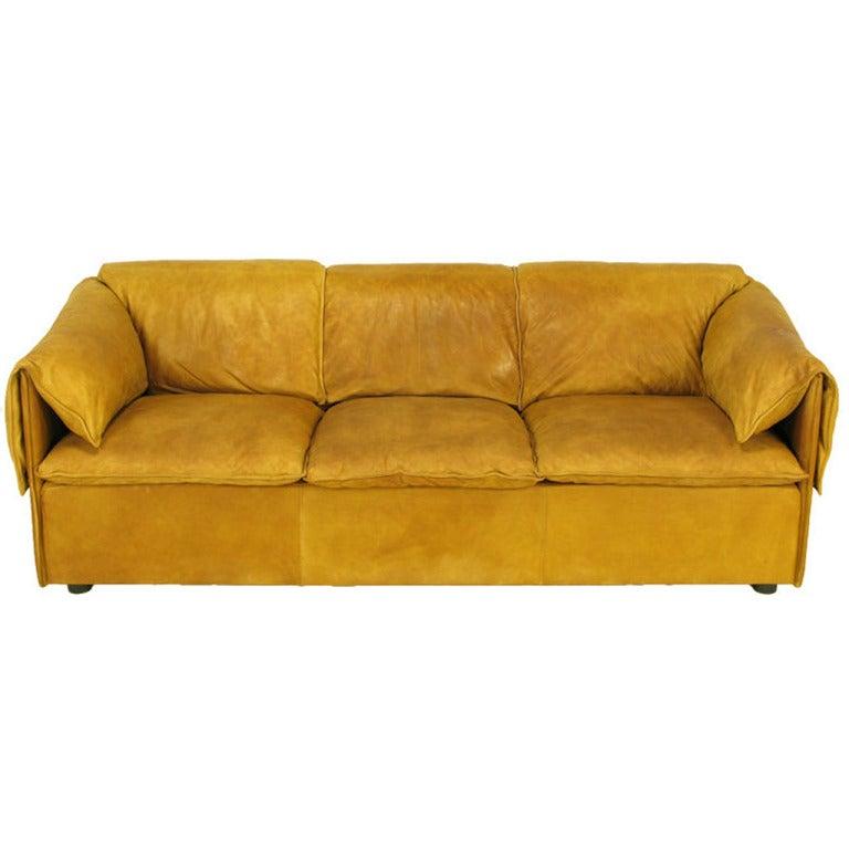 Niels Bendtsen Lotus Sofa For N Eilersen In Glove Soft Leather At 1stdibs