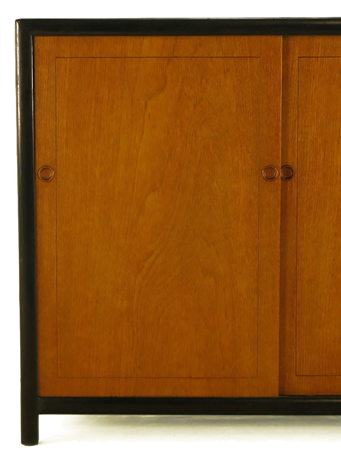 Michael Taylor for Baker New World Mahogany Cabinet For Sale 2