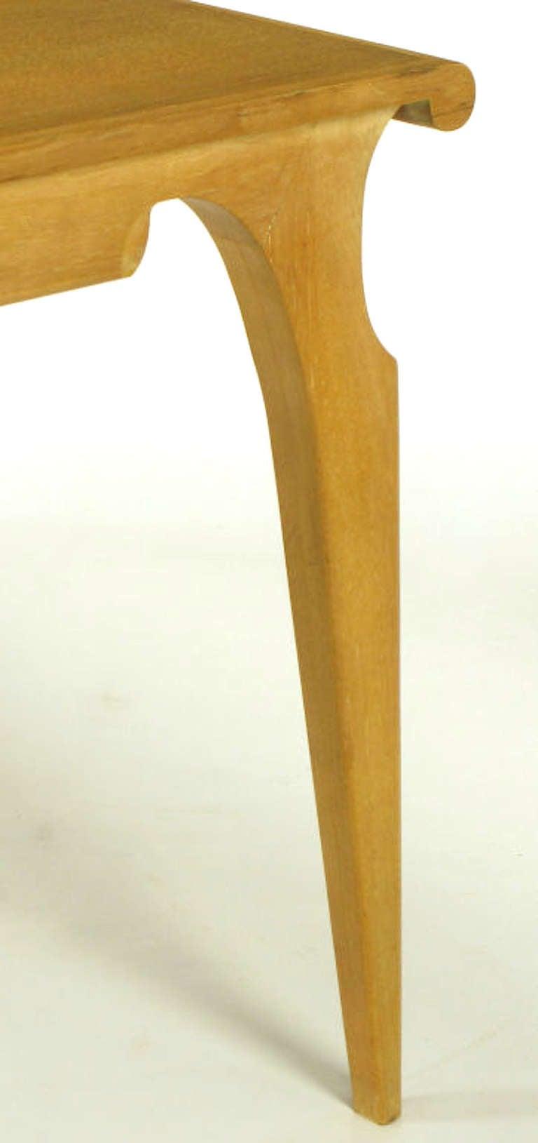 John Van Koert Casa del Sol Collection Tawny Walnut Dining Table For Sale 1