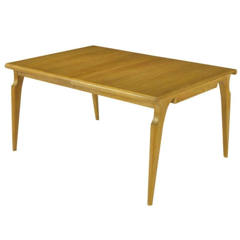 John Van Koert Casa del Sol Collection Tawny Walnut Dining Table For Sale