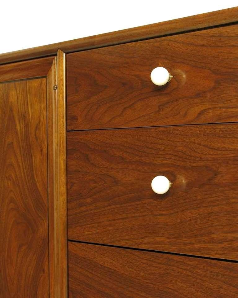 Kipp Stewart & Stewart MacDougall Walnut Dresser For Sale 1