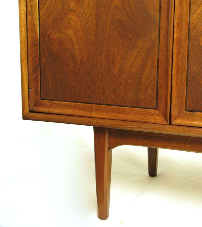 Kipp Stewart & Stewart MacDougall Walnut Dresser For Sale 2